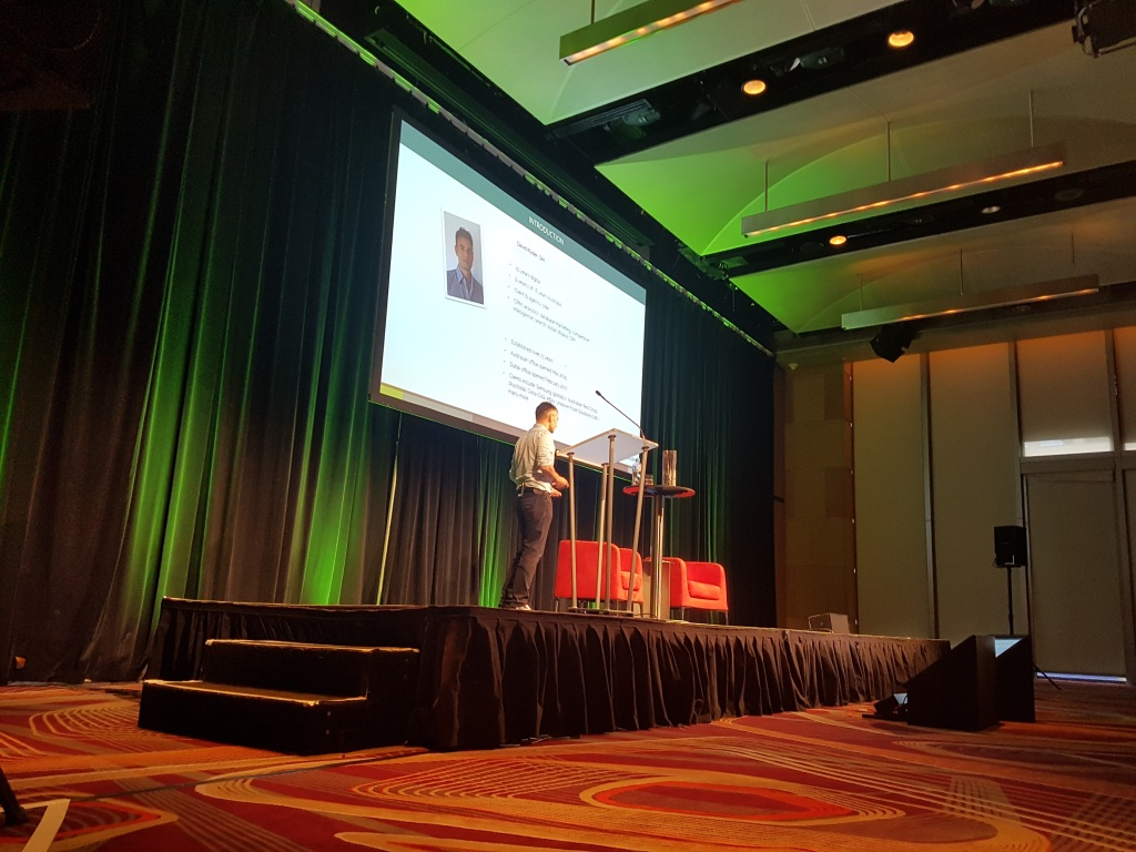David Ryder Presenting at Ad:Tech Sydney, Australia